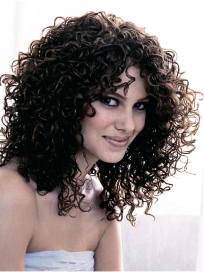 Завивка волос – фото