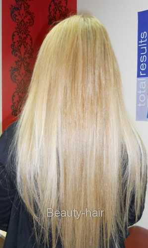 Нарастить один ряд волос